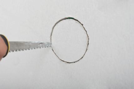 Вырезание ровной окружности на листе