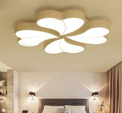 Оптимальный вариант светильника для натяжного полотна