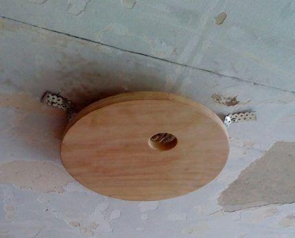 Закладная платформа из дерева