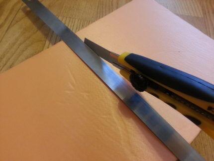 Малярный нож для резки