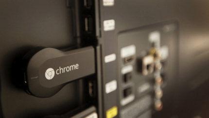 Подключенный приемник Chromecast