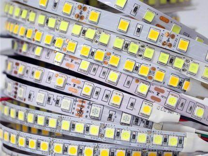 Светодиодные ленты с различными характеристиками