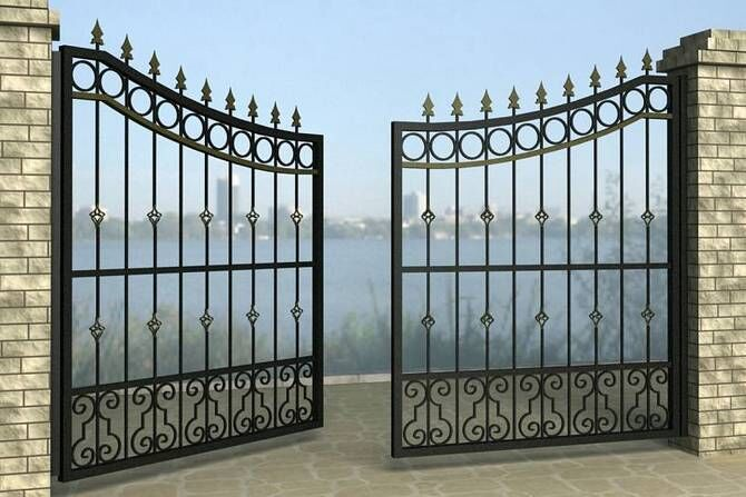 Виды ворот для частного дома: нюансы выбора + этапы установки своими руками