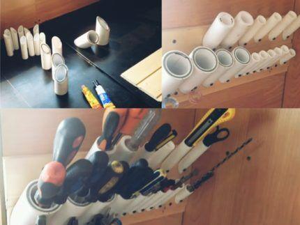 Система хранения из пластиковых труб