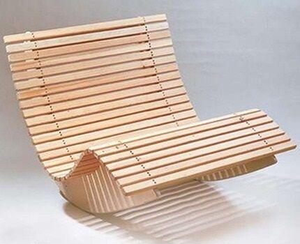 Оригинальная модель кресла-качалки