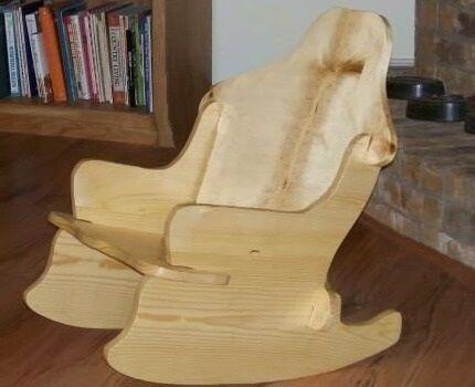 Модель кресла-качалки