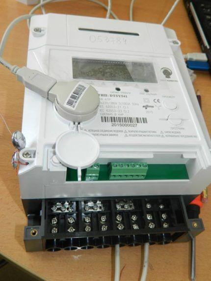 Подключение электрического счетчика