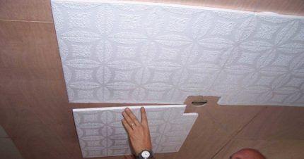 Монтаж плиточных панелей