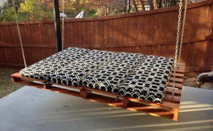 Сидение в виде кровати