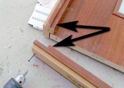 Соединение коробки встык