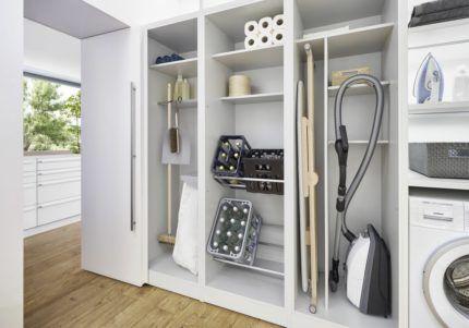Хранение бытовой техники в гардеробной