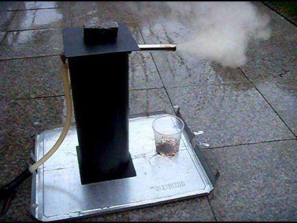Эжектор генератора холодного дыма