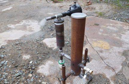 Размер бункера дымогенератора