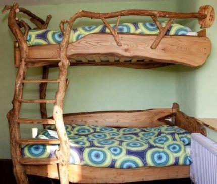 Двухъярусная кровать слэб