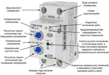 Реле напряжения УЗМ-51