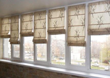 Вариант ткани для римской шторы