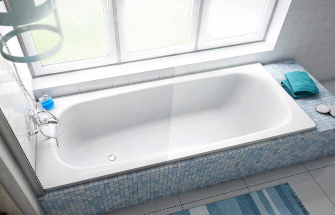 Стальная ванна Jika Riga
