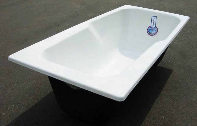Российская чугунная ванна Универсал