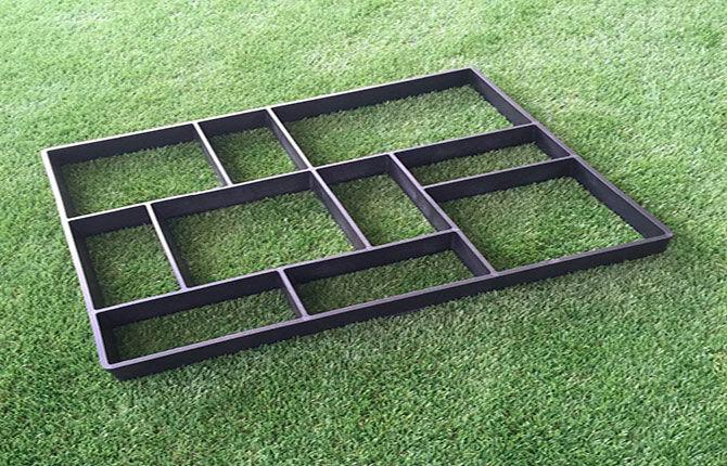 Металлический шаблон для тротуарной плитки