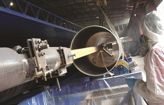 Технология внутренней изоляции труб - материалы покрытия и свойства защитного слоя