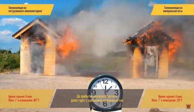 Как возвести пожаробезопасный дом для себя