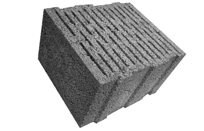 Крупноформатный керамзитный блок